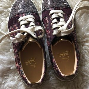 NEVER WORN! Christian Louboutin sneakers